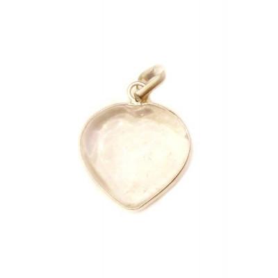 Crystal Transparent Heart Shape Pendant / Locket