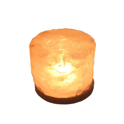 Himalayan Rock Salt Candle Lamp - 12 cm (VAHL-008)