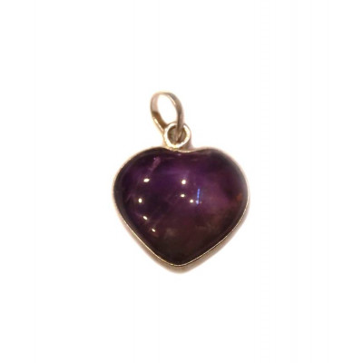 Amethyst for Saturn Pendant / Locket (PEAS-001)