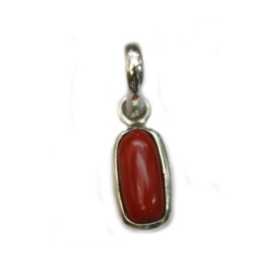 Red Coral Pendant - (RCP-002)