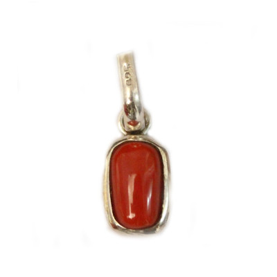 Red Coral Pendant - (RCP-005)
