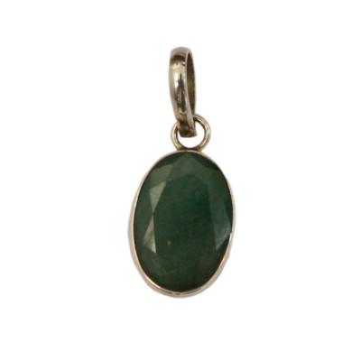 Emerald Pendant - (EMP-008)
