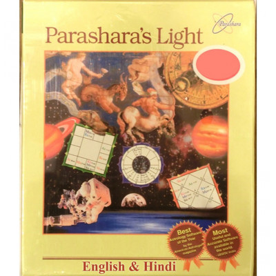 Parashara's Light 9.0 Professional Edition (English & Hindi Language) Astrology Software (PLAS-001)