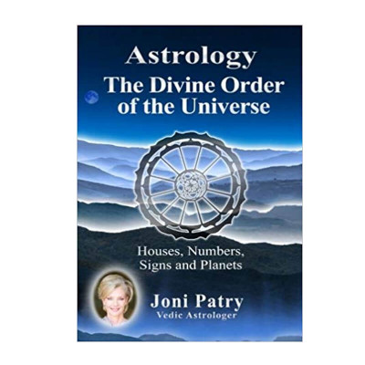 Astrology The Divine Order of the Universe In English By Joni Patry -(BOAS-0872)