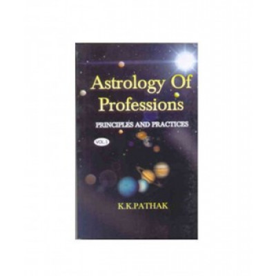 Astrology of Professions Vol -1 & 2 (BOAS-0264) by K. K. Pathak