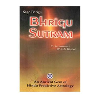 Bhrigu Sutram --Paperback- (BOAS-0673)