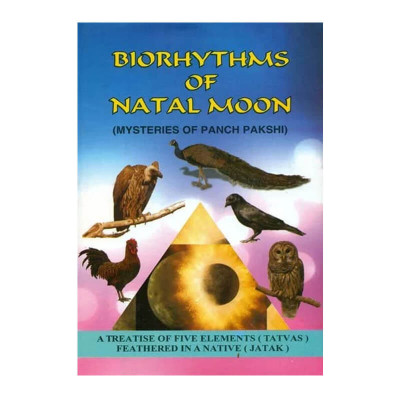 Biorthythms of Natal Moon (Mysteries of Panch Pakshi) in English by Dt. U. S. Pulippani- (BOAS-0910)
