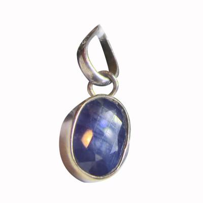 Blue Sapphire (Neelam ) Pendant -(BSP-004)