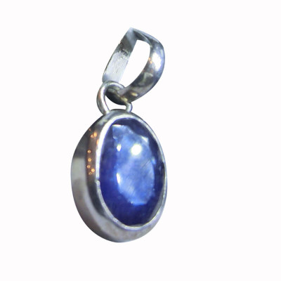 Blue Sapphire (Neelam ) Pendant -(BSP-010)