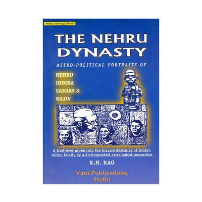 The Nehru Dynasty- Astro Political Portraits of Nehru Indira Sanjay & Rajiv (BOAS-0126)