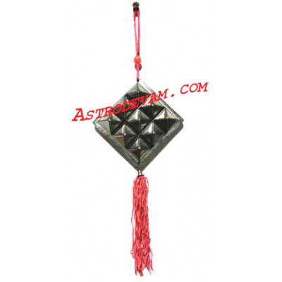 Ashta Dhatu Pyramid Plate  (Eight Auspicious Metals) - 8 cm (PYAD-001)