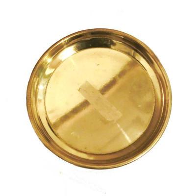 Brass Puja Thali / Plate - 120 gm (DIBP-004)
