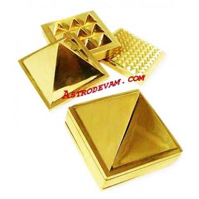 Brass 91 Pyramid - 2.5 cm (PYBR-002)