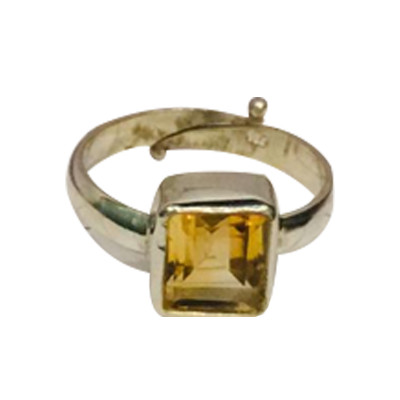 Citrine (Sunela) Ring- (CSR-001)