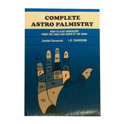 Complete Astro Palmistry in English -(BOAS-0863)