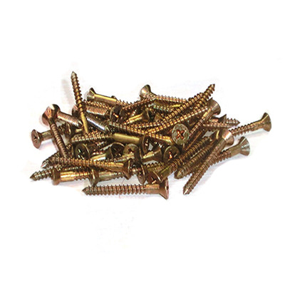 Brass Screw - Medium (50)- (PVBSM-001)