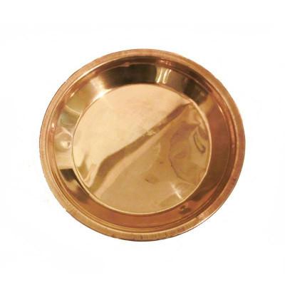 Copper Puja Thali / Plate - 130 gm (DICP-004)