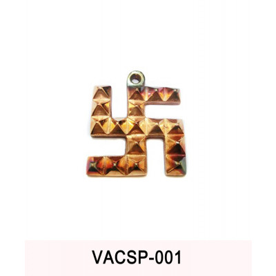 Copper Swastik Pyramid - 130 gm (VACSP-001)