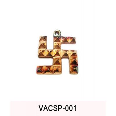 Copper Swastik Pyramid - 100 gm (VACSP-001)