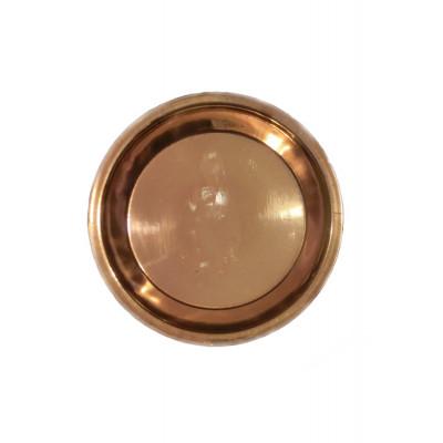 Copper Puja Thali / Plate - 76 gm (DICP-002)