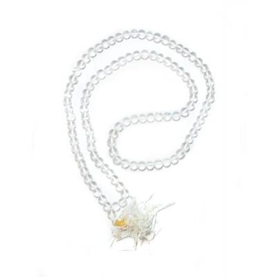 Crystal Rosary/ Mala Plain - 06 mm (MACR-003)