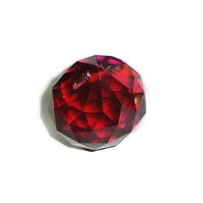 Crystal Ball Red - 4.5 cm (FECB-007)