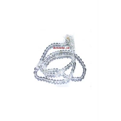 Crystal Rosary / Mala Plain - 09 mm (MACR-001)