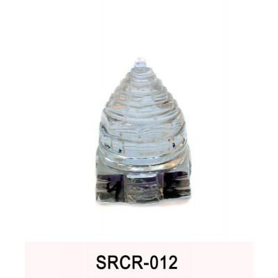 Crystal Sumeru Shree Yantra - 100 gm (SRCR-012)