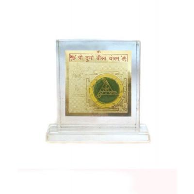 Durga Bisa Yantra -8 cm (YADB-004)