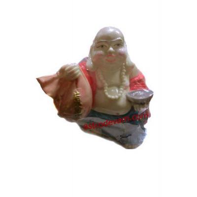 Laughing Buddha with Money Bag Gold Ingots -18 cm (FELB-004)