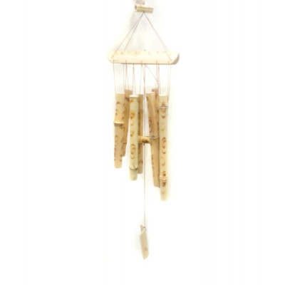 Wooden Wind Chime 8 Rods - 56 cm (FEWWC-002)