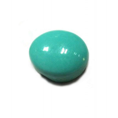 Natural Feroza (Turquoise) Oval Cabochon - 10.70 Carat (FI-04)