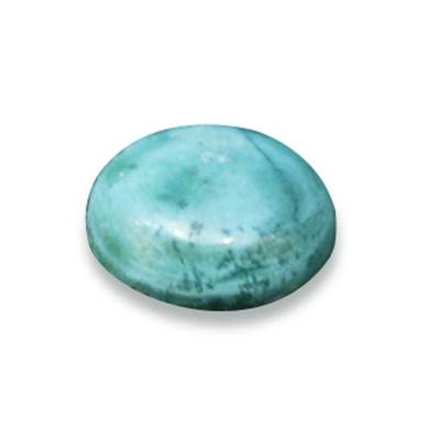 Natural Feroza (Turquoise) Round Cabochon Gemstone - 18.90 Carat (FI-31)