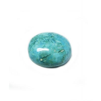 Natural Feroza (Turquoise) Oval Cabochon - 14.25 Carat (FI-43)
