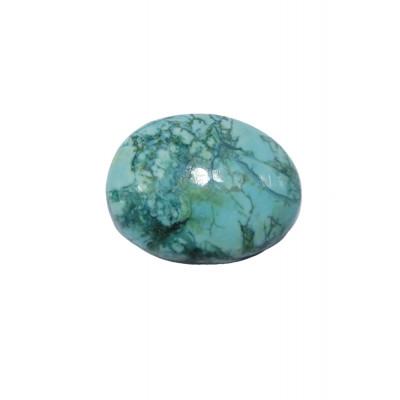 Natural Feroza (Turquoise) Oval Cabochon - 22.75 Carat (FI-46)