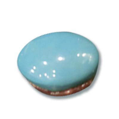 Natural Feroza (Turquoise) Oval Cabochon 15.05 - Carat (FI-49)
