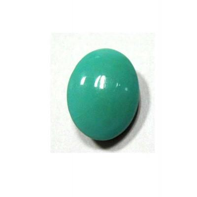 Natural Feroza (Turquoise) Oval Cabochon - 11.55 Carat (FI-66)