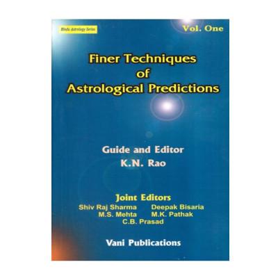 Finer Techniques of Astrological Predictions Vol 1 -2 Set (BOAS-0137)