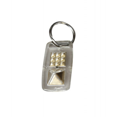 Fortune Key Chain - (PVFKC-001)- Key to open Locks to Luck and Fortune with Pyramid Power