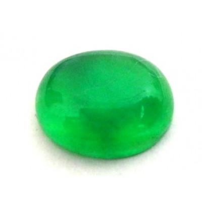 Natural Green Quartz Oval Cabochon 3.60 Carat (GQ-08)
