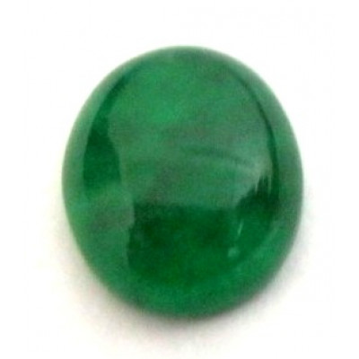Natural Green Quartz Oval Cabochon Gemstone 4.80 Carat (GQ-25)