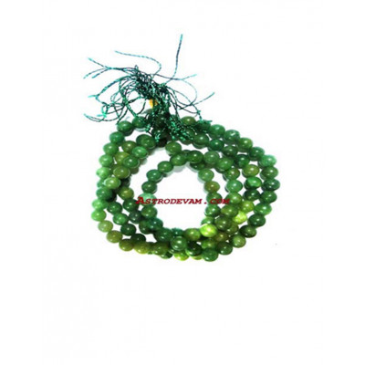 Hakik Mala / Rosary Green - 08 mm (MAHA-005)