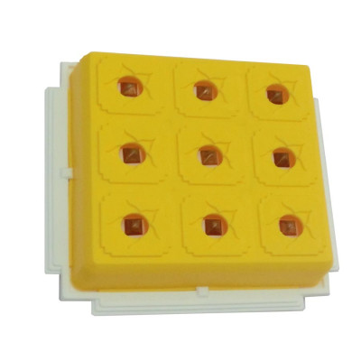 Health 9x9 - Yellow Pyramid