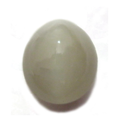 Natural Cat's Eye Oval Cabochon - 6.40 Carat (LE-08)