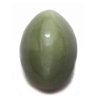 Natural Cat's Eye Gemstone Oval Cabochon - 8.90 Carat (LE-20)