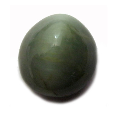 Natural Cat's Eye Gemstone Oval Cabochon - 5.55 Carat (LE-28)