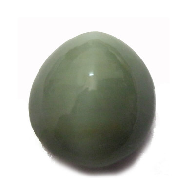 Natural Cat's Eye Gemstone Oval Cabochon - 5.20 Carat (LE-35)