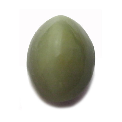 Natural Cat's Eye Gemstone Oval Cabochon - 5.60 Carat (LE-14)