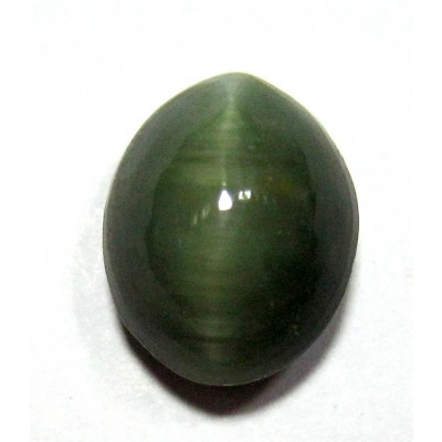 Natural Cat's Eye Gemstone Oval Cabochon - 6.05 Carat (LE-06)