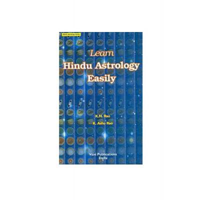 Learn Hindu Astrology Easily by K N Rao (BOAS-0136)
